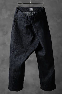 daska wrap pants / belgium denim (INDIGO)