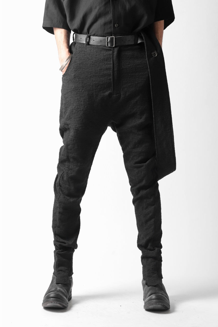un-namable Tjuana Pants w/suspenders (BLACK)