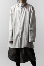 Load image into Gallery viewer, un-namable page Overfit/Layer Shirt (Cotton Stripe)