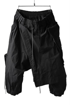 画像をギャラリービューアに読み込む, A.F ARTEFACT WRAP SKIRT COMBI MILITARY SHORTS (BLACK)