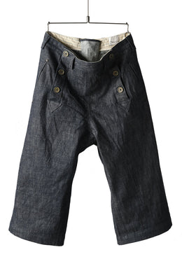 daska marin short pants / belgium denim (INDIGO)