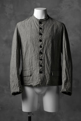 KLASICA CIRCA OLD STYLE JACKET / GARMENT WASHED (GREIGE)