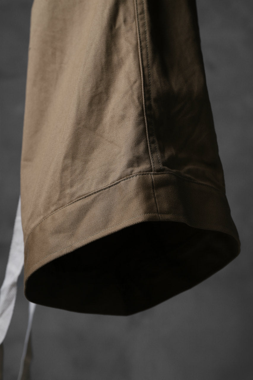 KLASICA GERALD-cc LOW CROTCH SHORTS / DRY CHINO CLOTH (BEIGE)