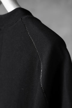 画像をギャラリービューアに読み込む, KLASICA LUNG CAP SLEEVE LONG  CUT & SEWN / DRY TWILL JERSEY (BLACK)