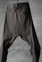 画像をギャラリービューアに読み込む, N/07 exclusive CONSTRUCTIVE FORMED SKINNY TROUSERS [ High Stretch Denim/Bio ] (KHAKI BROWN)