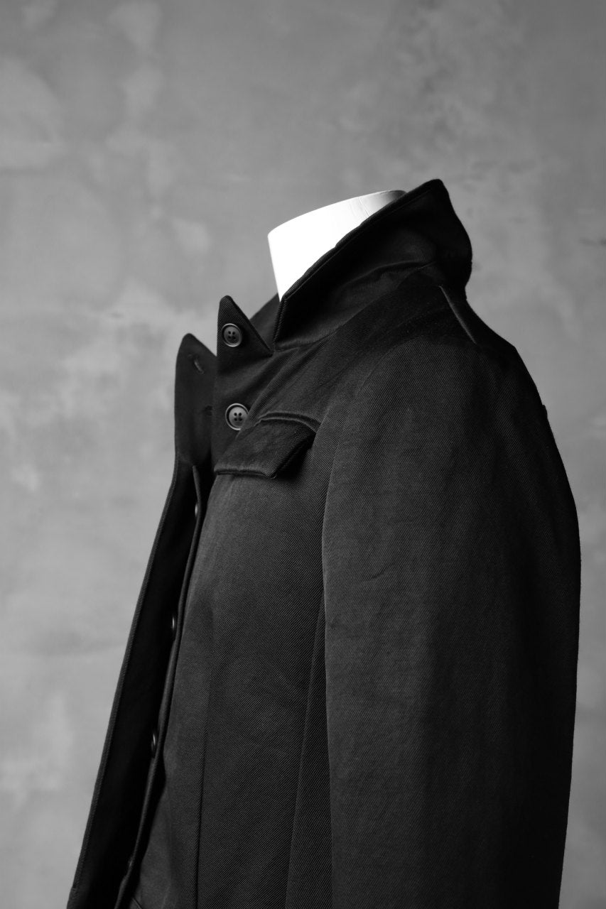 画像をギャラリービューアに読み込む, RUNDHOLZ SHORT LENGTH JACKET / BLACK'N TWILL (BLACK)