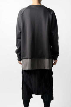 Load image into Gallery viewer, The Viridi-anne LAYERED PULL OVER SHIRT / ORGANIC SILKET COTTON
