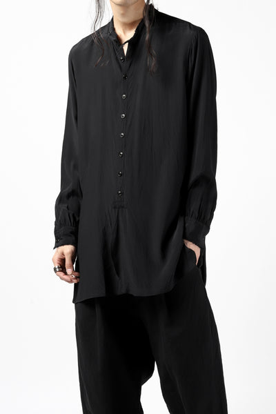 KLASICA exclusive SH-021 LONG SHIRT / FUJI ETTE (BLACK)