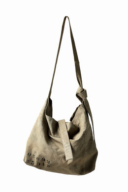 KLASICA BIVOUAC limited SHOULDER-BAG / 40'S BRITISH TENT (USED BEIGE)