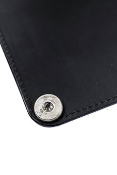 Load image into Gallery viewer, ierib Removal Long Wallet / Guidi Fiore (BLACK)