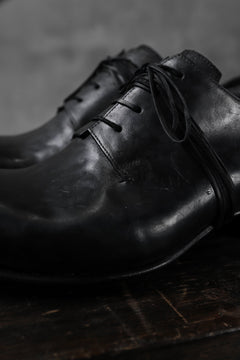 Load image into Gallery viewer, DIMISSIANOS & MILLER derby whole-cut with extended tongue shoes / culatta leather (BLACK)