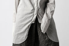 画像をギャラリービューアに読み込む, un-namable exclusive Lazarus Shirt / Silky Cotton Stripe (NATURAL)