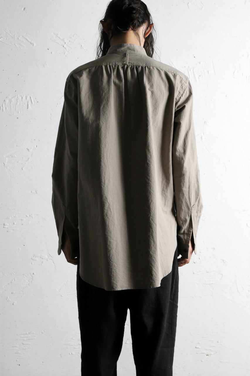 Load image into Gallery viewer, COLINA GRANPA SHIRT / PAPER COTTON (GRAY)