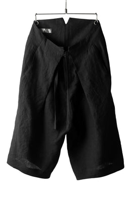 Hannibal. Folding Code Short Trousers (BLACK)