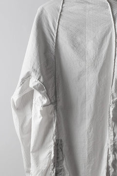 画像をギャラリービューアに読み込む, un-namable Mad Dolman Shirt #2 / Silky Cotton Stripe (NATURAL)