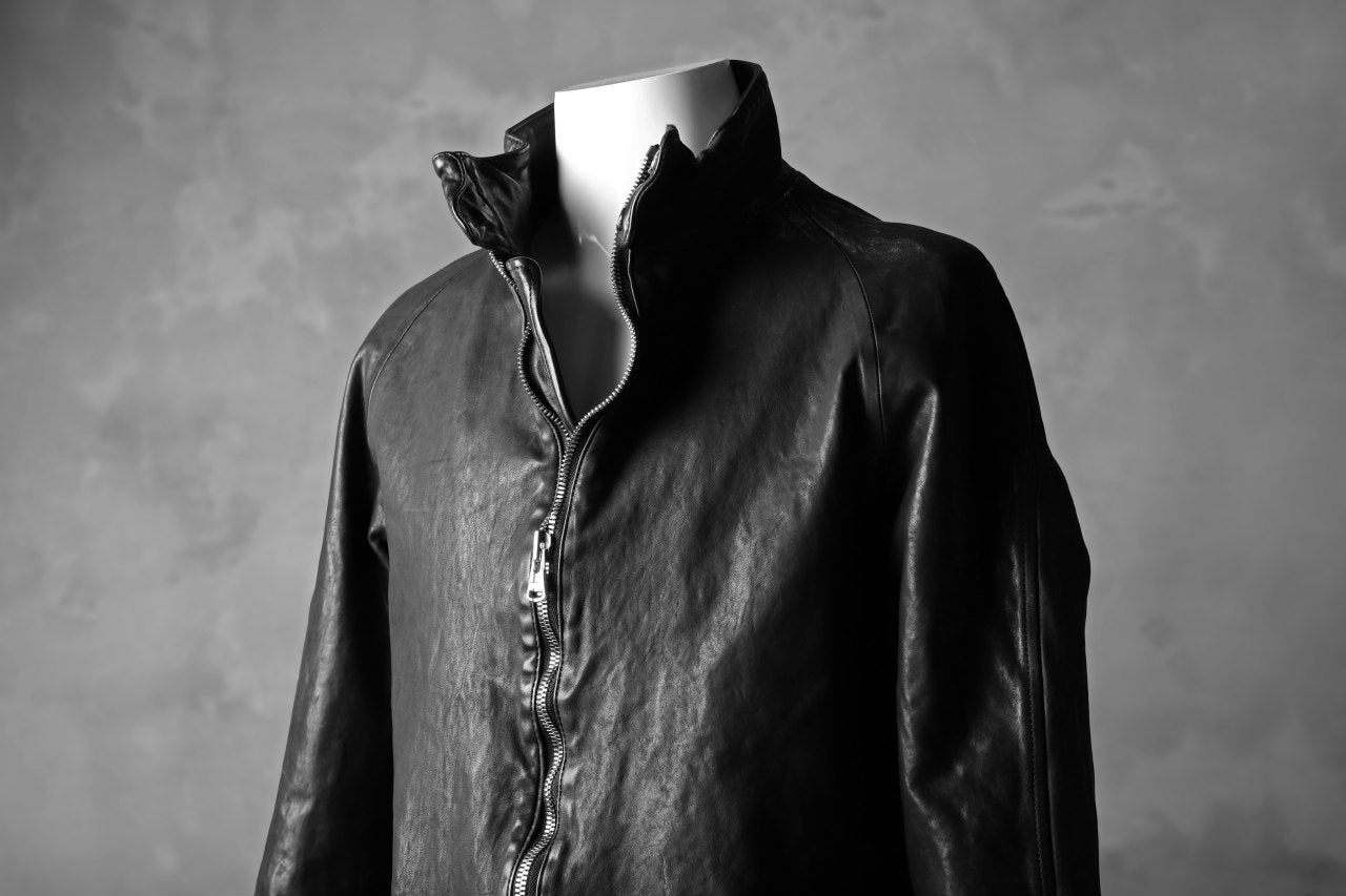 ISAMU KATAYAMA BACKLASH exclusive HIGH NECK BLOUSON / JP-TANNED HORSE
