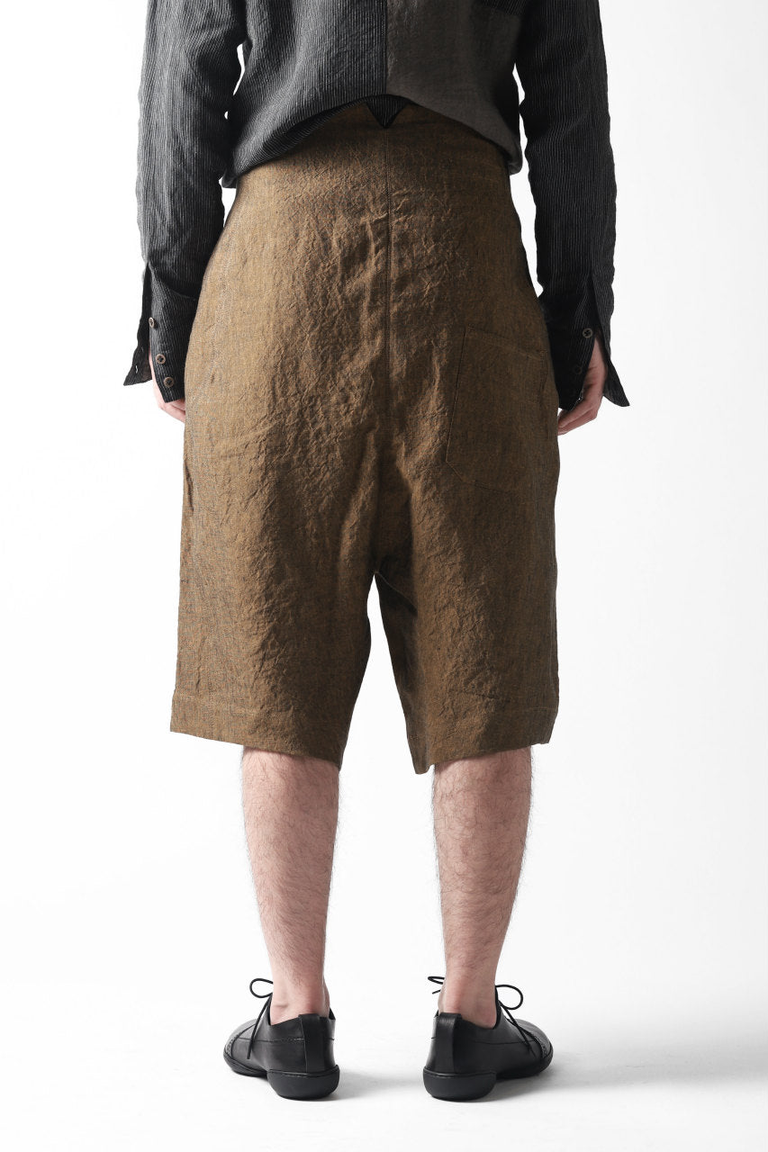 Hannibal. Folding Code Short Trousers (AMBER)