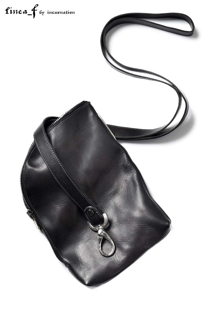 LINEA_F by incarnation GUIDI CALF LEATHER POUCH