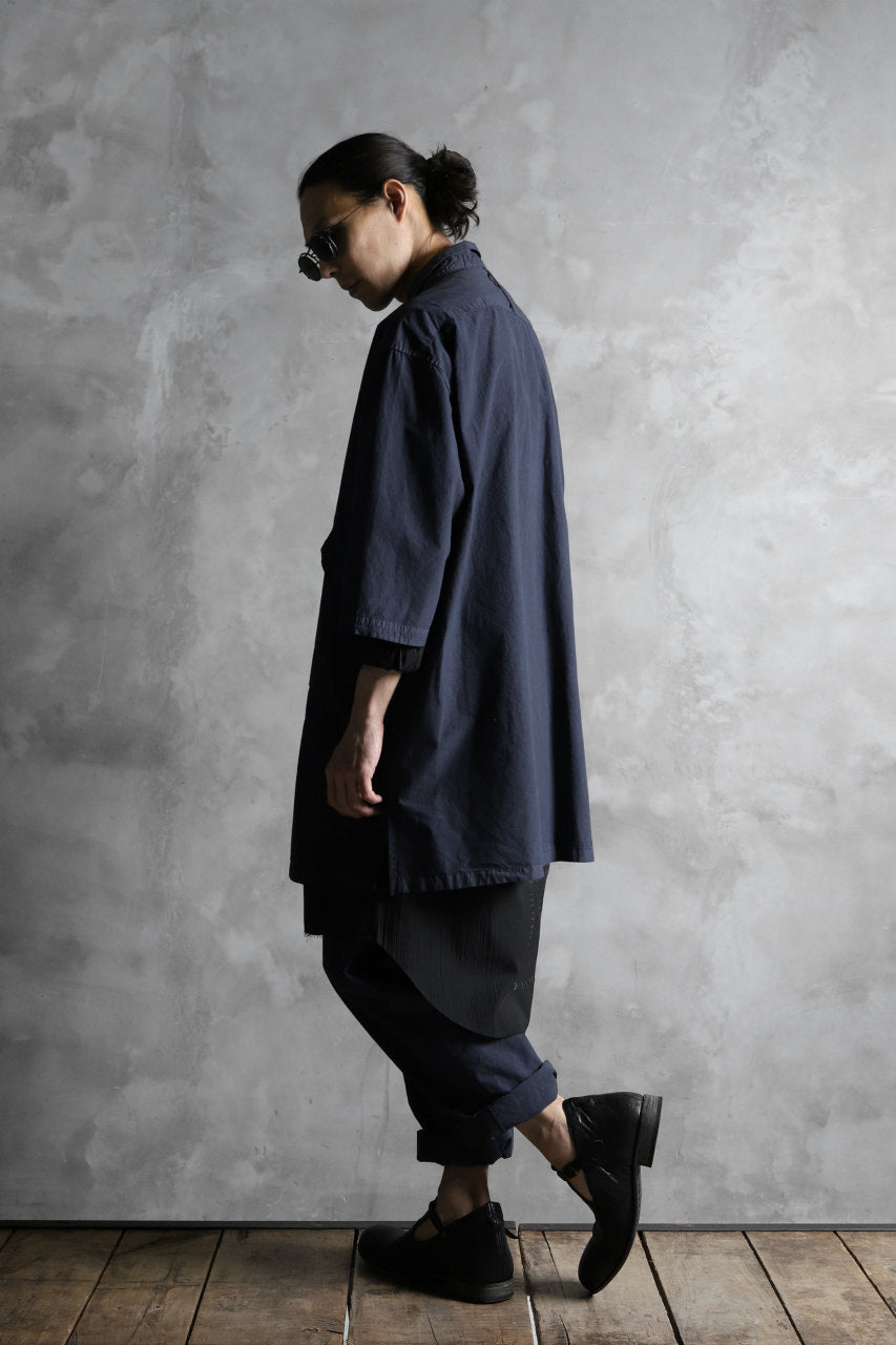 画像をギャラリービューアに読み込む, The Viridi-anne BIG SIZED HALF SLEEVE SHIRT / GARMENT DYED