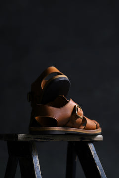 画像をギャラリービューアに読み込む, sus-sous sandal shoes / italy oiled cow leather *hand dyed (NATURAL)