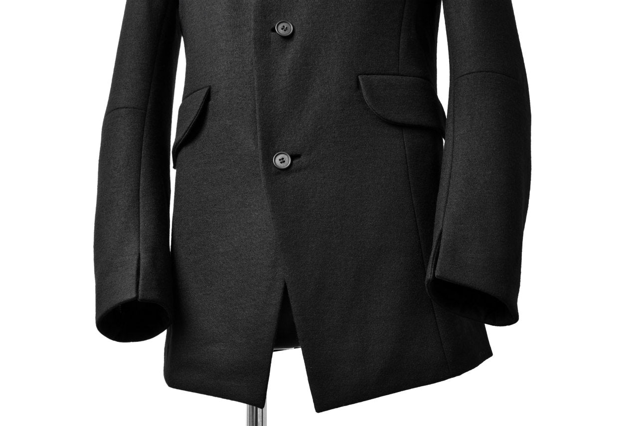 SOSNOVSKA DOUBLE WOOL JERSEY JACKET (BLACK)
