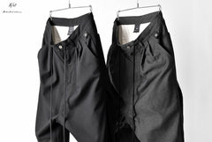 画像をギャラリービューアに読み込む, N/07 exclusive Three Dimensional Wide Pants Tuck/Dart Detail (GREY)
