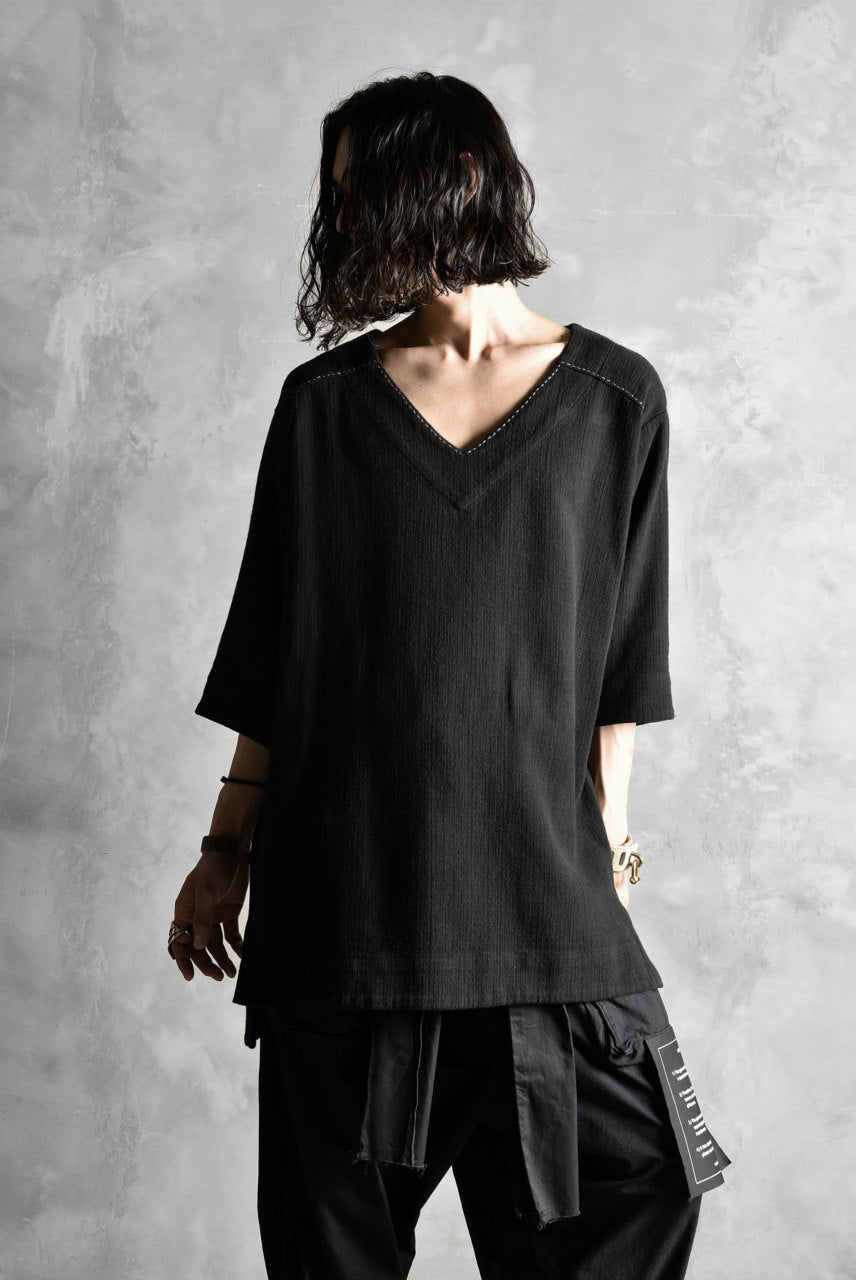 A.F ARTEFACT exclusive TUNICA TOPS [Cotton-Linen/Threne Dye]