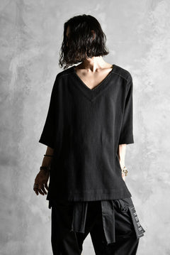 画像をギャラリービューアに読み込む, A.F ARTEFACT exclusive TUNICA TOPS [Cotton-Linen/Threne Dye]