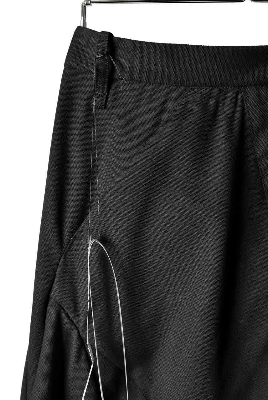 Load image into Gallery viewer, LEON EMANUEL BLANCK DISTORTION CHEM PANTS / MIRAVEL (BLACK)