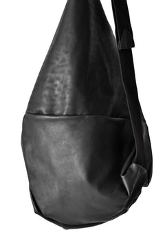 画像をギャラリービューアに読み込む, LEON EMANUEL BLANCK DISTORTION KILO DEALER BAG / GUIDI HORSE LEATHER (BLACK)
