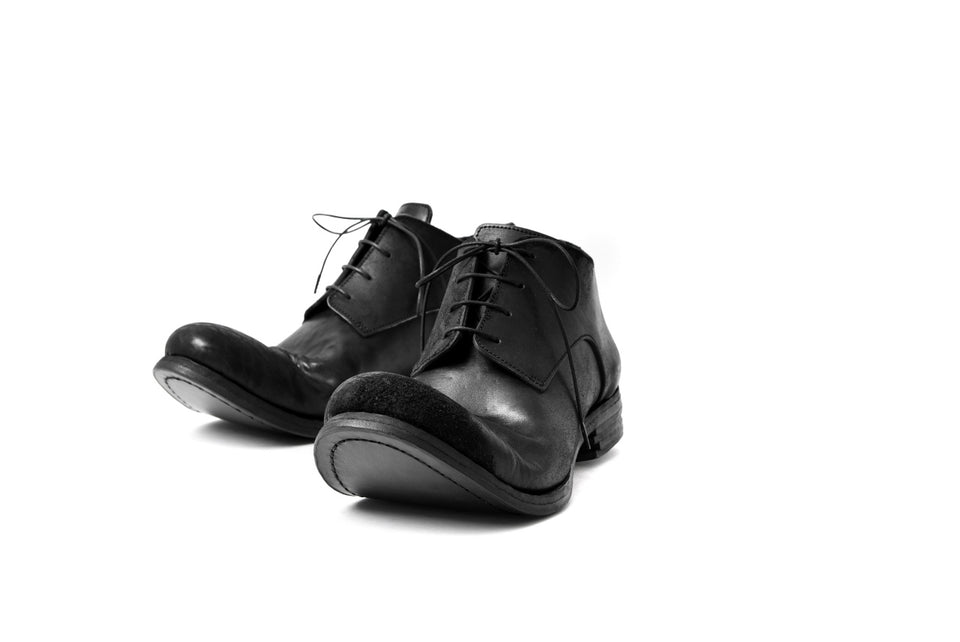 "画像をギャラリービューアに読み込む, prtl x 4R4s exclusive derby shoes / Cordovan Full grain ""No3-5"" (BLACK)"