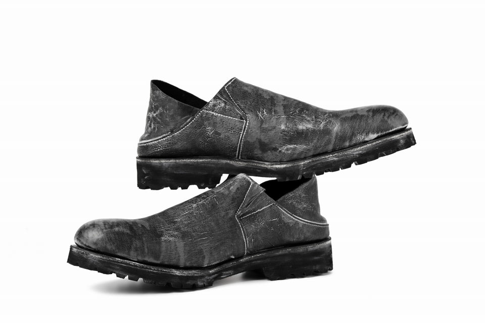 画像をギャラリービューアに読み込む, Portaille exclusive PL5 VB Slipon Shoes / HS horse waxy heavy (BLACK)