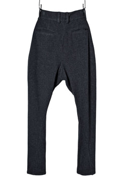 Load image into Gallery viewer, N/07 CURVE JODHPUR PANT / CASHMERE KNIT MELTON (CHARCOAL)
