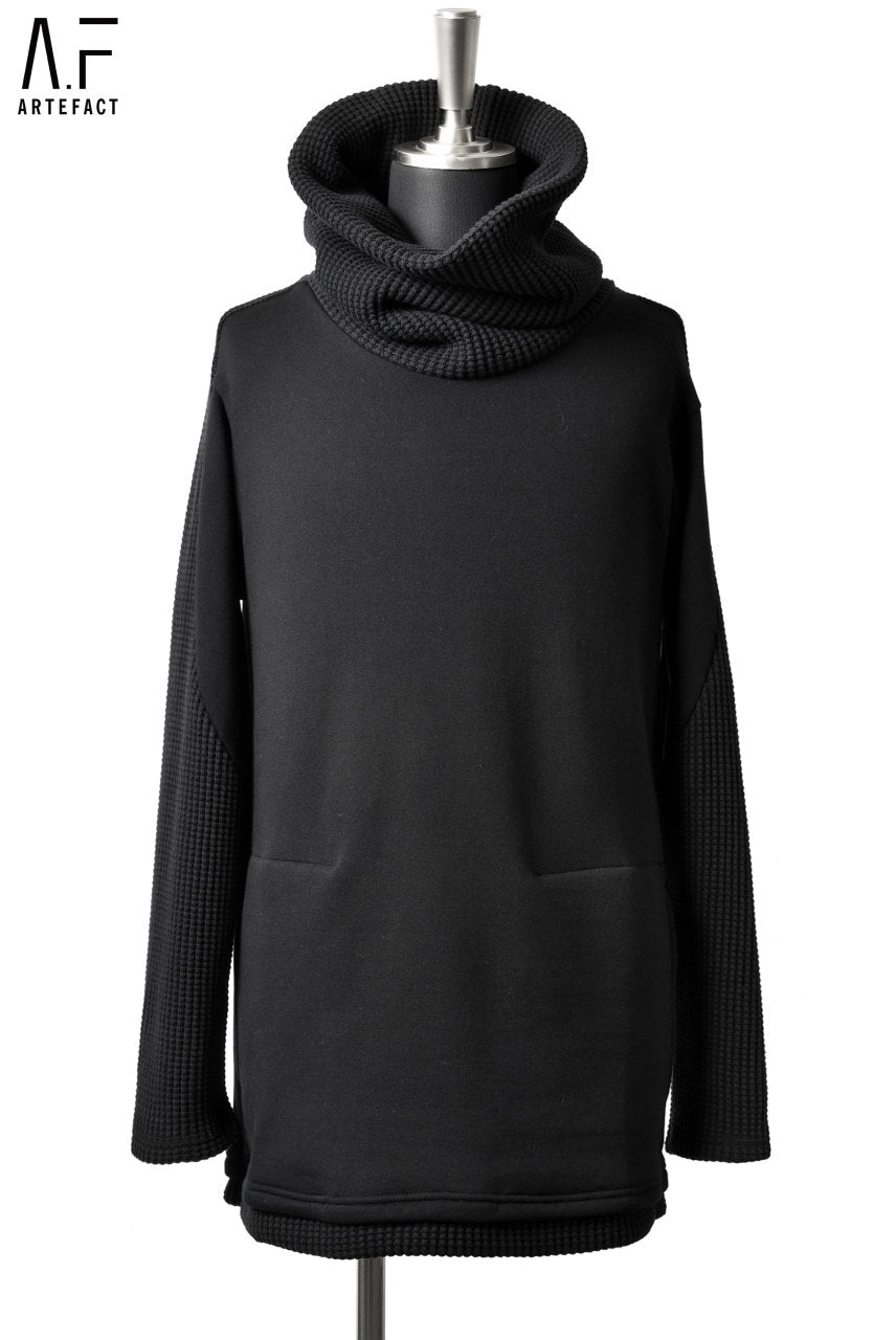 A.F ARTEFACT SWEATER/HEAVY WAFFLE HIGHNECK TOP