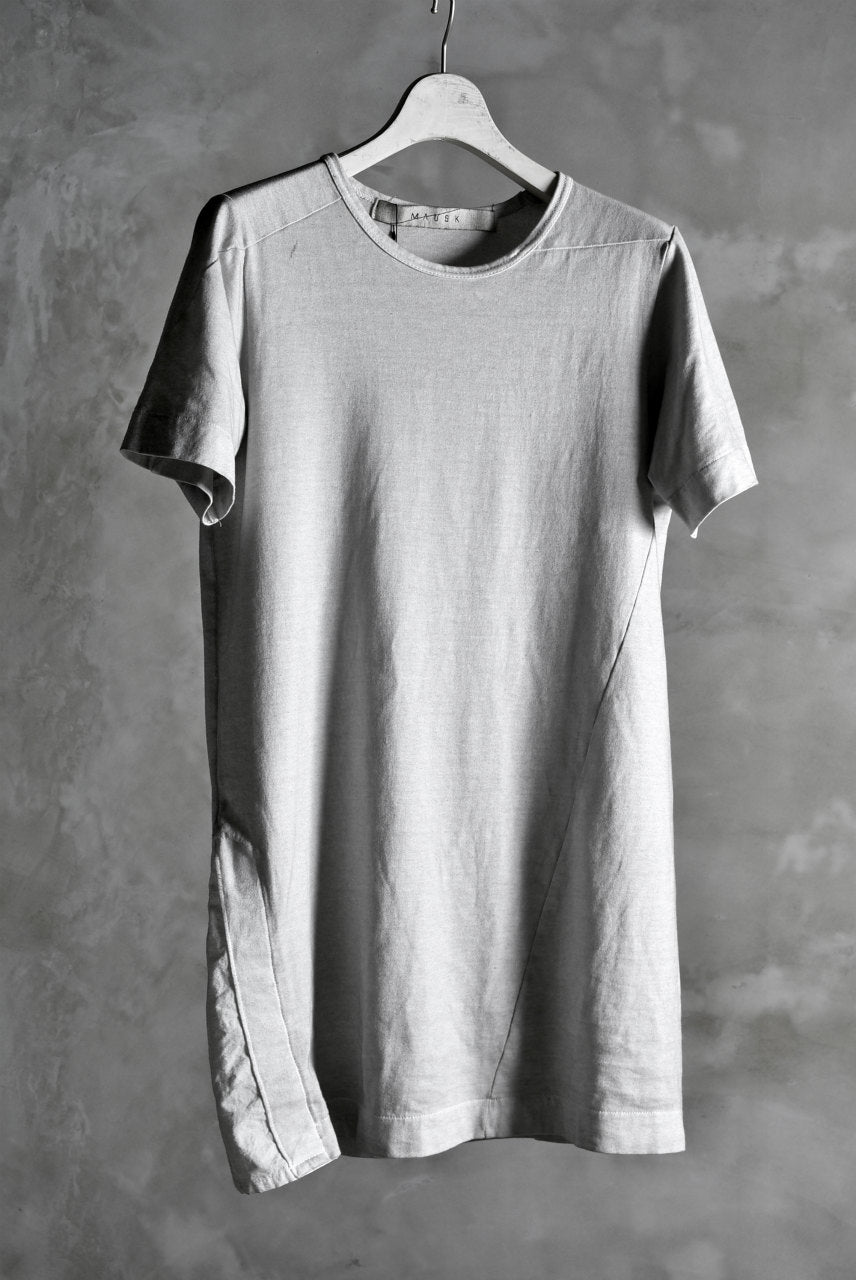 "N/07 ""MAUSK Detail"" ASSORTMENT JP-SUMI DYED T-SHIRT (SUMI×WHITE)"