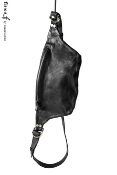 画像をギャラリービューアに読み込む, linea_f by incarnation Horse Nuback Leather Fanny Bag (GREY)