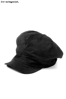 der antagonist. CASQUETTE / COTTON SOFT (BLACK)