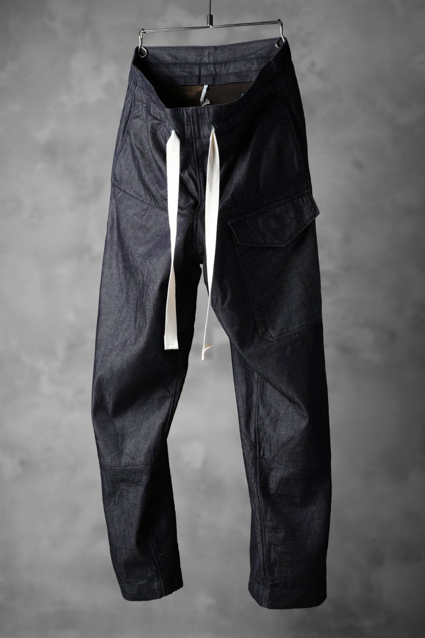 sus-sous supima denim wide trousers MK-1 (INDIGO)