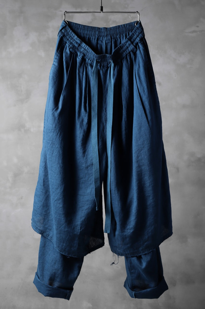 Load image into Gallery viewer, _vital layerd HAKAMA wide pants (sample one make.)