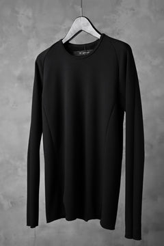 Load image into Gallery viewer, A.F ARTEFACT exclusive BomberHEAT® RAGLAN L/S TOPS (BLACK)