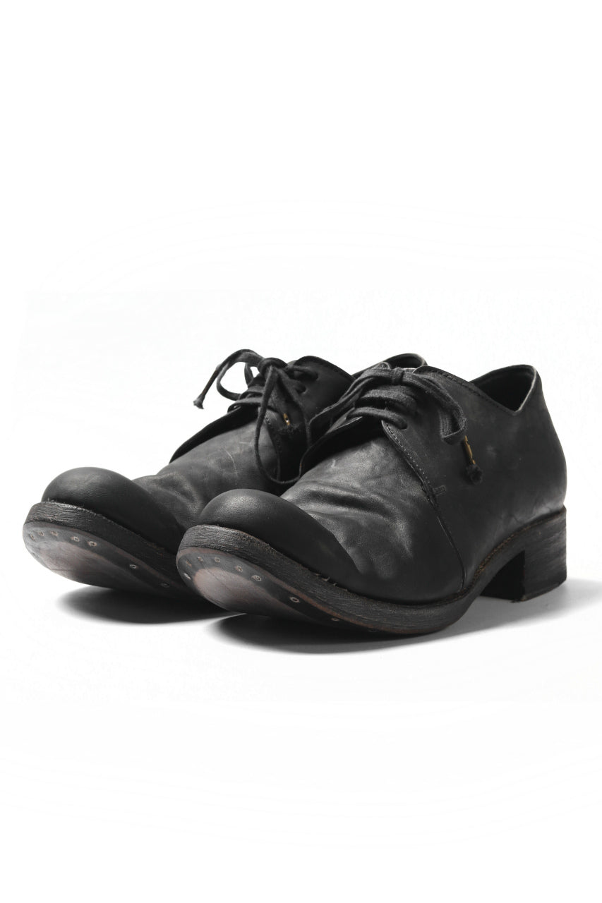 EVARIST BERTRAN  EB2T Derby Shoes / Washed Culatta (BLACK)