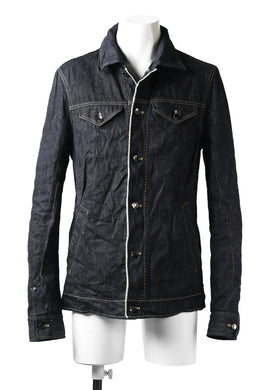 incarnation SELVEDGE JEAN JACKET / ONE WASHED 12oz DENIM (INDIGO)