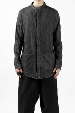 incarnation exclusive ARCH SHIRT JACKET / 6.5oz CHAMBRAY (GREY)