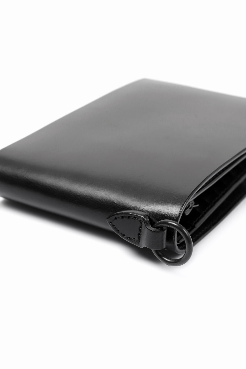 Load image into Gallery viewer, ISAMU KATAYAMA BACKLASH BILLFOLD WALLET / BRIDLE LEATHER (BLACK)