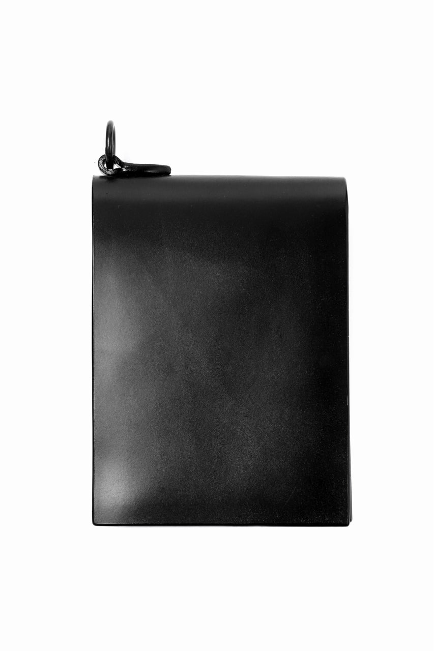 ISAMU KATAYAMA BACKLASH BILLFOLD WALLET / BRIDLE LEATHER (BLACK)