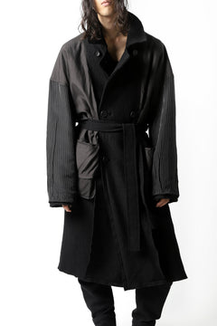画像をギャラリービューアに読み込む, The Viridi-anne REVERSIBLE TRENCH COAT / WOOLRING FLEECE
