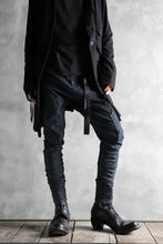 画像をギャラリービューアに読み込む, N/07 exclusive CONSTRUCTIVE FORMED SKINNY TROUSERS [ High Stretch Denim/Bio ] (INDIGO)
