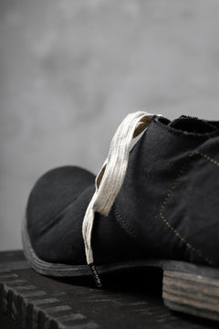 Load image into Gallery viewer, Portaille exclusive PL20 Derby Shoes (Vintage Military Tent Remake / OVER DYED BLACK)