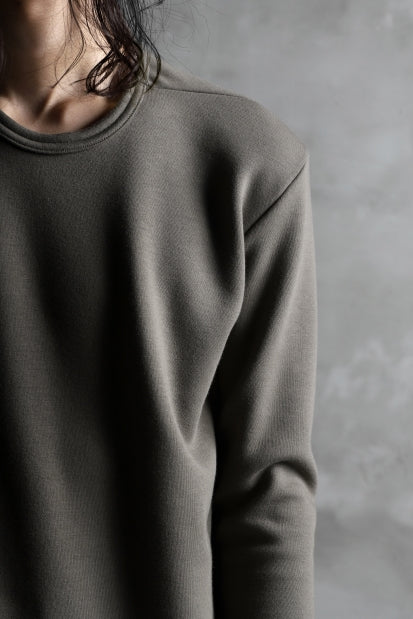 画像をギャラリービューアに読み込む, A.F ARTEFACT exclusive BomberHEAT® BASIC TOPS (KHAKI GREY)