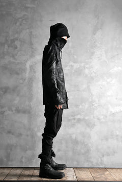画像をギャラリービューアに読み込む, LEON EMANUEL BLANCK DISTORTION MILLTARY POCKET PANTS / MORPH TWILL (BLACK)